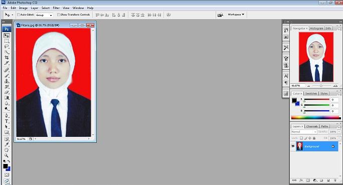 ... Cara Cepat dan Mudah Mengganti Background Photo dengan Photoshop