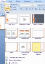 Belajar Cara Buat Presentasi Baru Microsoft Power Point2007