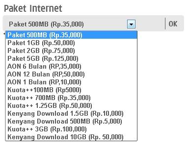 harga paket internet 3 tri 2013 disini bisa dilihat beberapa harga
